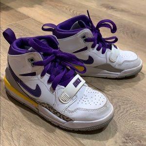 Laker Nike Jordans